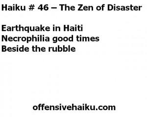 Offensive Haiku #46