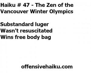 Offensive Haiku # 47