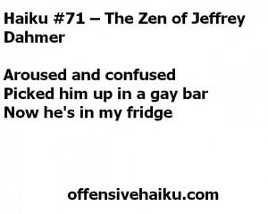 Offensive Haiku # 71
