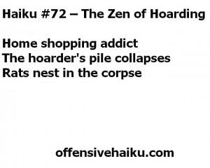 Offensvie Haiku # 72
