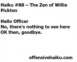 Offensive Haiku # 88