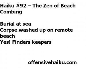 Offensive Haiku #92
