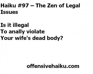 The Zen of Legal Issues